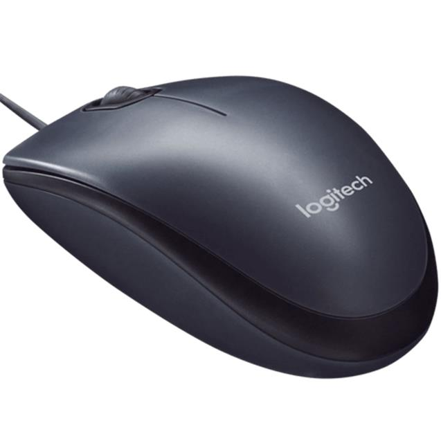 Mouse Logitech M90 Usb Óptico Dark Midnight Gray