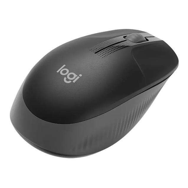 Mouse Logitech M190 Black Gray Wireless Usb