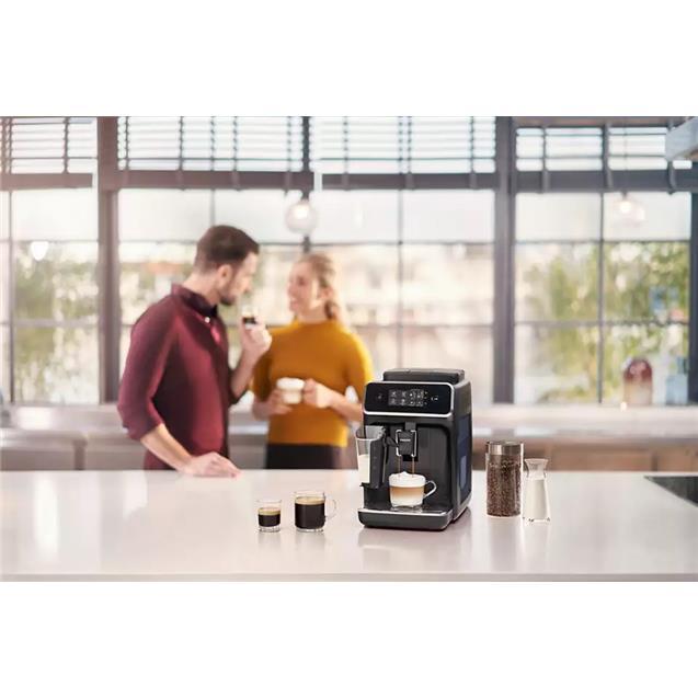 Cafetera Express Philips Ep2231/42 Táctil Negro