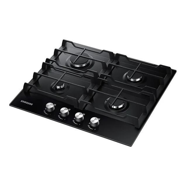 Anafe Samsung (Na64h3000ak) 60cm 4 Hornallas A Gas Negro