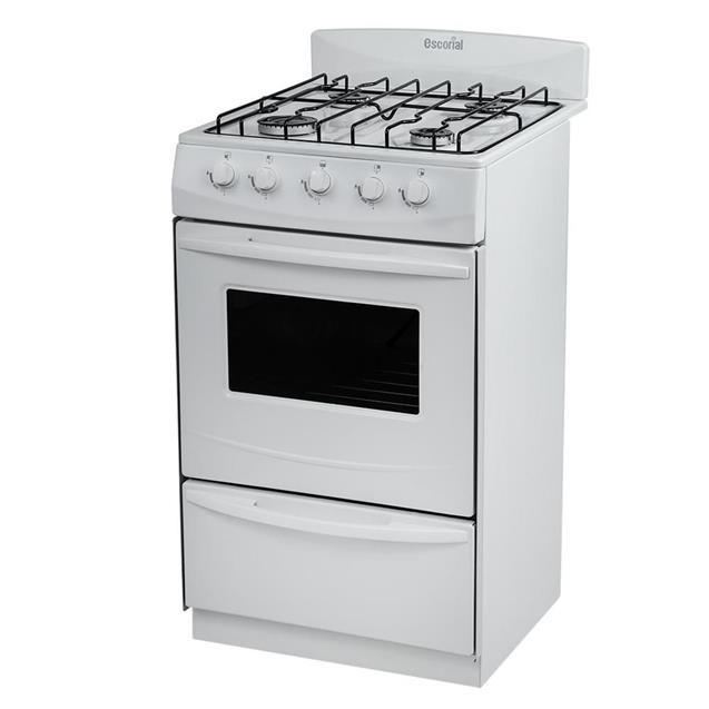 Cocina Escorial Candor S2 51cm Bco Gn