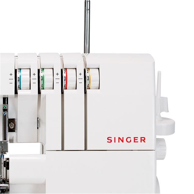 Máquina De Coser Singer 14sh754 Overlock 4 Hilos 1300 Ppm