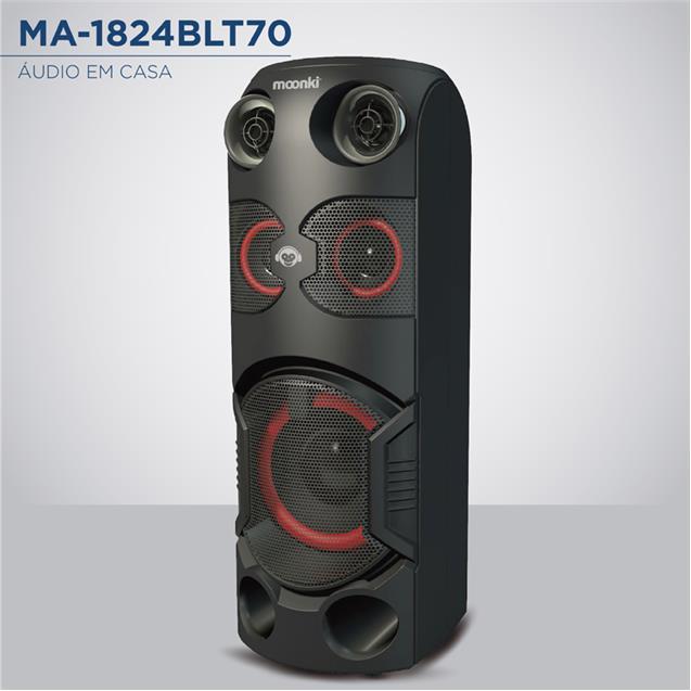 Parlante Moonkie Ma1824blt70  Bt 1100w Batería