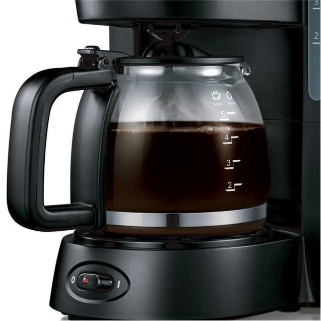 Cafetera Midea Cm-M110bar 0.8 Lts Negra