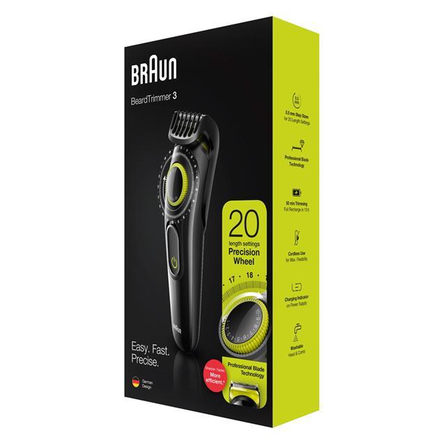 Corta Barba Braun Bt3221 Dial