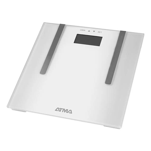 Balanza Digital Atma (94ba7604n) Vidrio Templado Medidor De Grasa Memoria