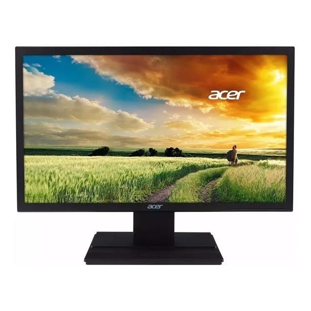 "Monitor Led 24"" Acer V246hl + Hdmi 16:9 5ms"