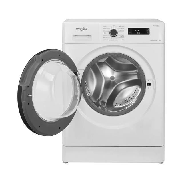 Lavarropas Whirlpool Wlf80ab 8kg 1200 Rpm Blanco Carga Frontal