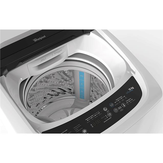 Lavarropas Whirlpool (Wwi16cb) Carga Superior 10kg 700 Rpm Blanco