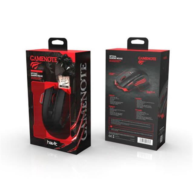 Mouse Havit Ms10005 Dpi Ctrl/Fire Button/Contrapeso