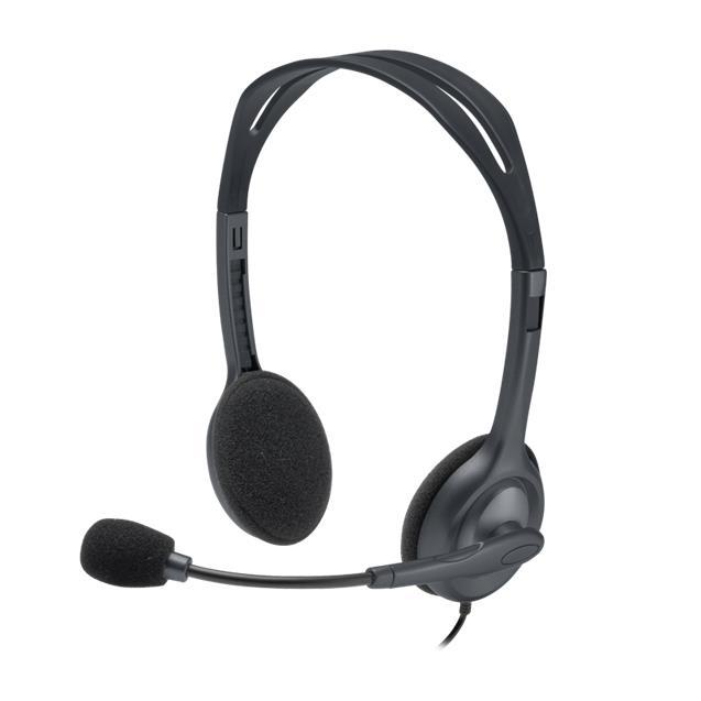 Auricular Logitech H111 Con Micrófono Black