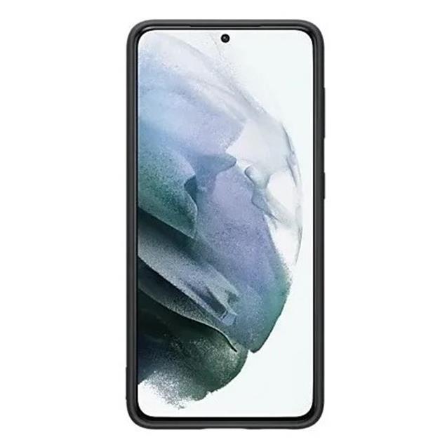 Funda Samsung S21 Silicona Negra Original