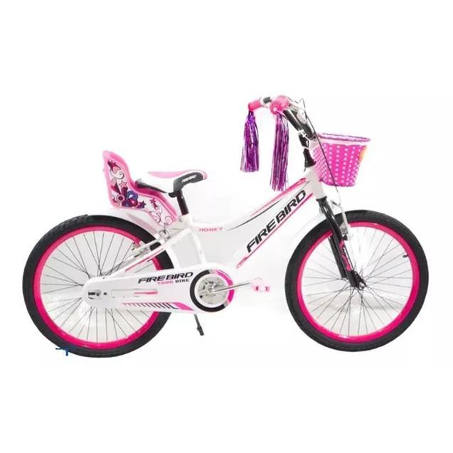 Bici Firebird Binfb20n R20 Acero Honey Blanco y Rosa