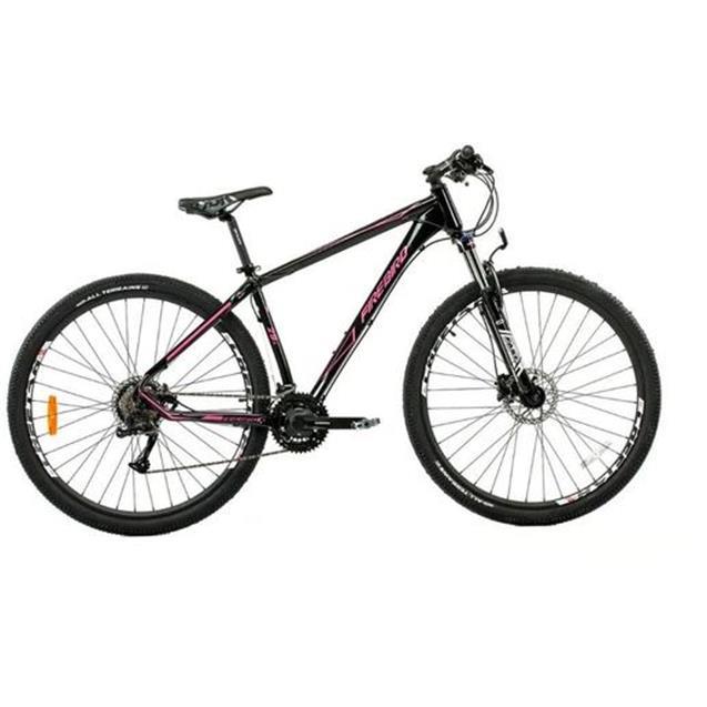 "Bicicleta Firebird Mountain Bike 29"" 27v T18 Hidráulico Negro/Naranja (BIN2927DHW00)"