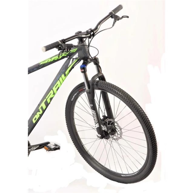 """Bici Firebird On Trail Mtb 29"""" 27v T18 Hidraulico Negro y Verde"""