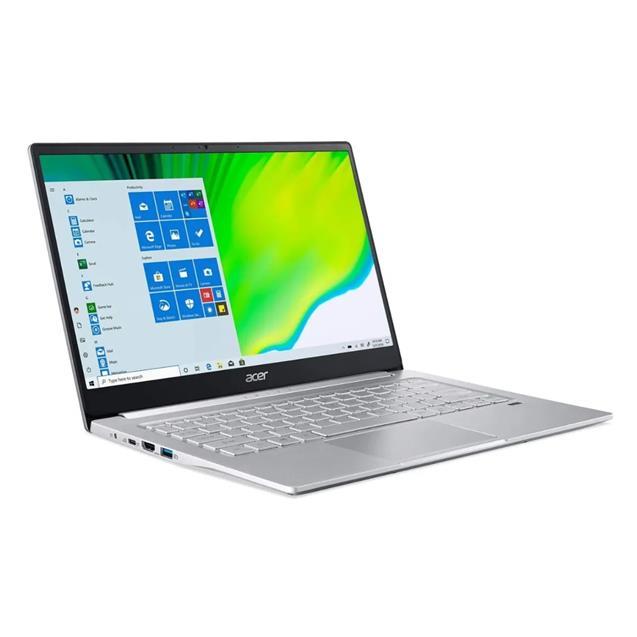 "Notebook Acer (Swift 3) 14"" I5-1135G7 8gb 256gb ssd  W10 Silver"
