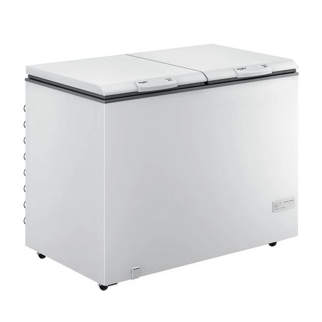 Freezer Horizontal Whirlpool Whb42d1 414 Lts Blanco