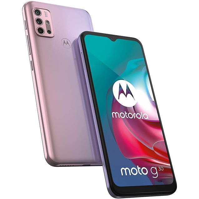 Motorola Moto G30 128Gb 4Gb Lila Pastel
