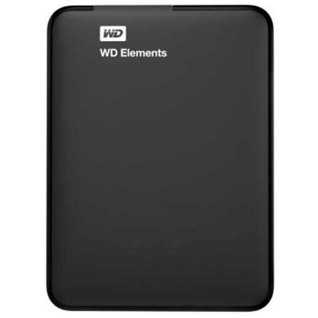 Disco Rígido Portable Wd 4tb Elements