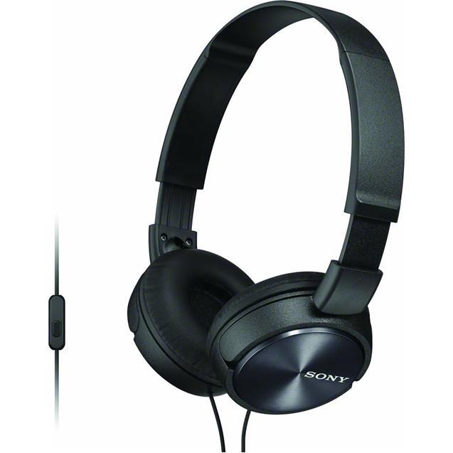 Auricular Sony Mdr-Zx310 Apbzuc Negro