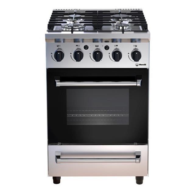 Cocina Morelli Ferro 550 con parrilla 550 (18075)