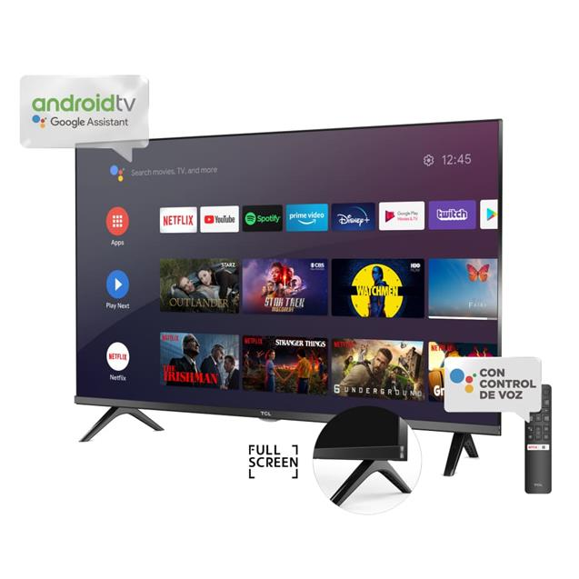 """Smart Tv 31,5"""" TCL Android Hd Voice Control (L32S60A)"""
