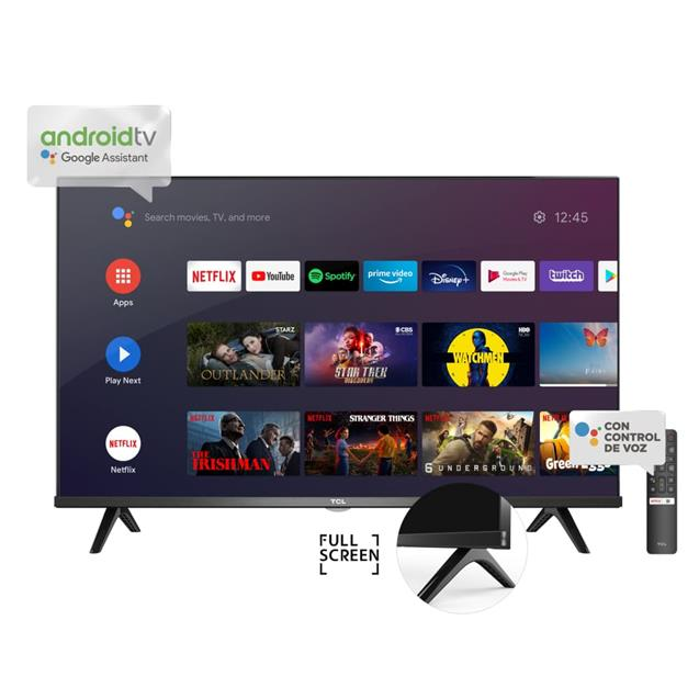 """Smart Tv 40""""  Tcl  Android Fhd  bluetooth+ Voice Control (L40s65a)"""
