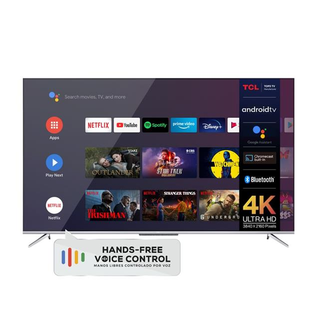 """Smart Tv  55""""  Tcl 4k Android bluetooth + Voice Control (L55p715)"""