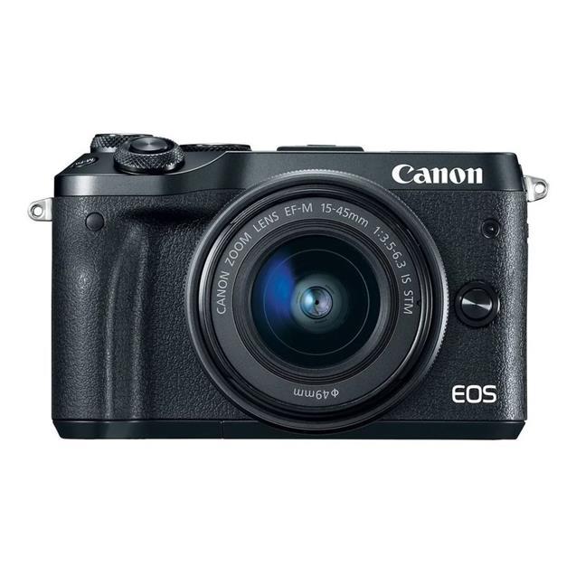 Camara Canon Eos M6 Mk II 15-45mm 32.5 Mpx