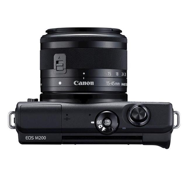 Camara Canon Eos M200 15-45mm 24.1 Mpx Modo Vlogger