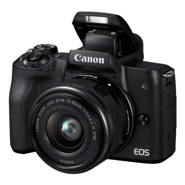 Camara Canon Eos M50 MK II 15-45  24.1 Mpx