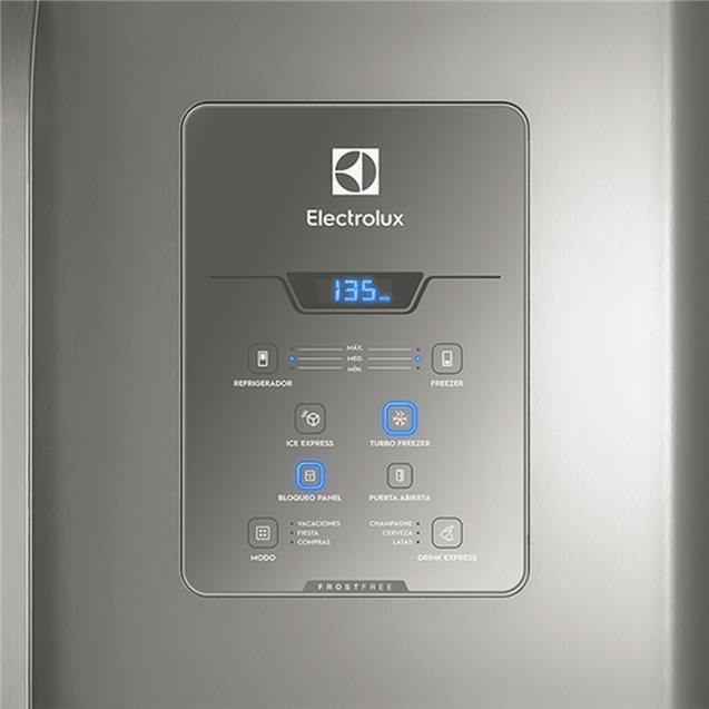 Heladera Electrolux 601 Lts No Frost Side by Side (DM84X)