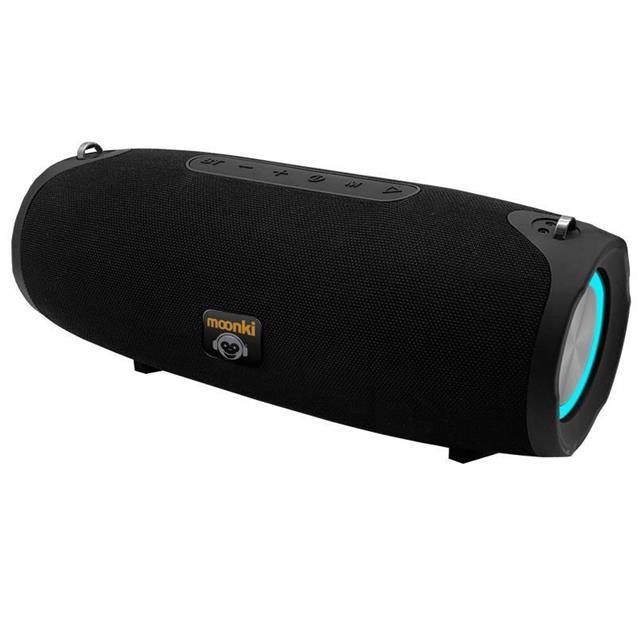 Parlante Bluetooth Portatil Moonkie Negro (L2077)