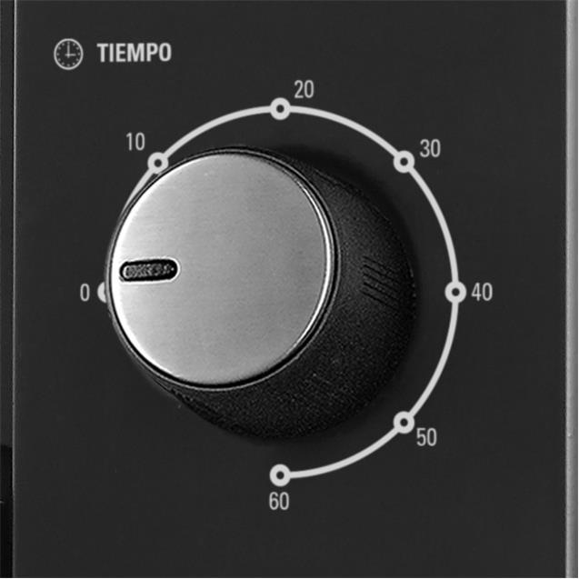 Horno Electrico Yelmo (Yl45an) Con Anafes 45lts 1600w