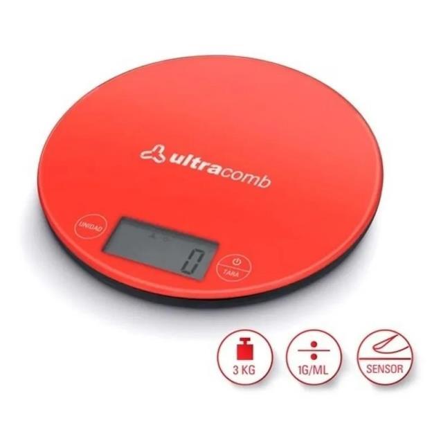 Balanza Ultracomb (Bl6001) 3kg Led
