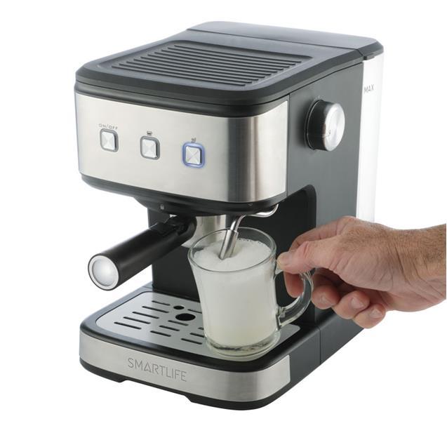 Cafetera Expresso Smart Life  2 en 1 - 20 bares ( EC8501 )