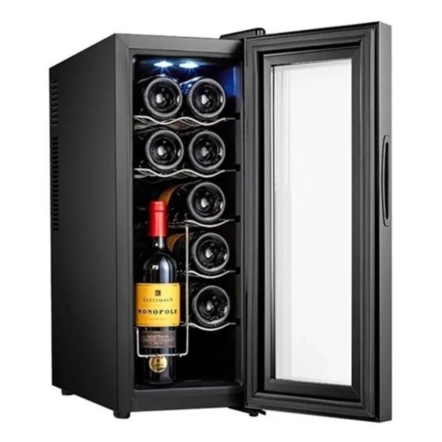 Vinoteca Daewoo 12 Botellas 65w Luz 8 a 18 ºc (Bcw35c)