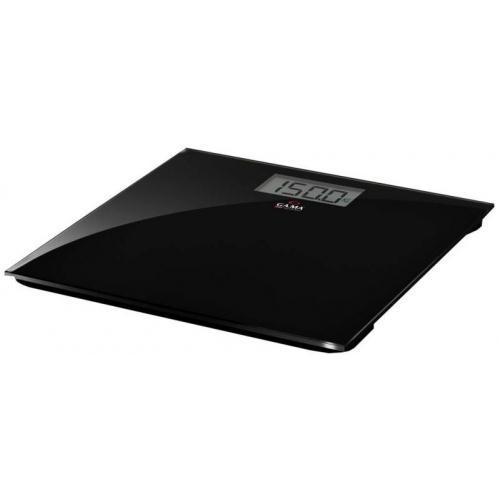 Balanza GA.MA Vidrio Negra 150kg (SCG-430)