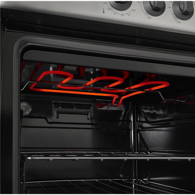 Cocina Longvie 19501xf Luz Encendido 56cm Inox