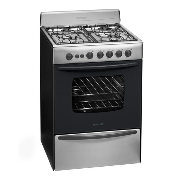Cocina Longvie 60cm Acero (13601XF)