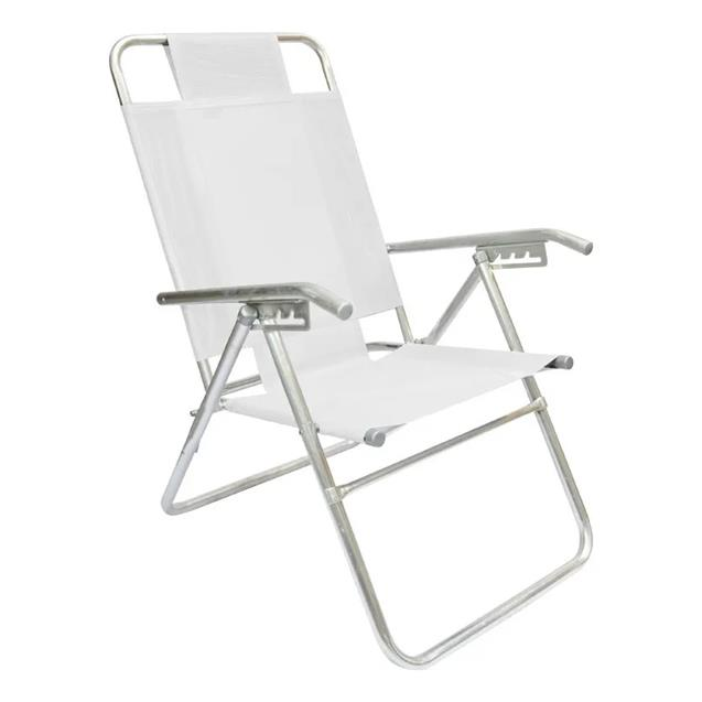 Reposera de Aluminio Descansar Playera 5 Posiciones (80015)