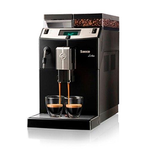 Cafetera Express Saeco Lirika Black