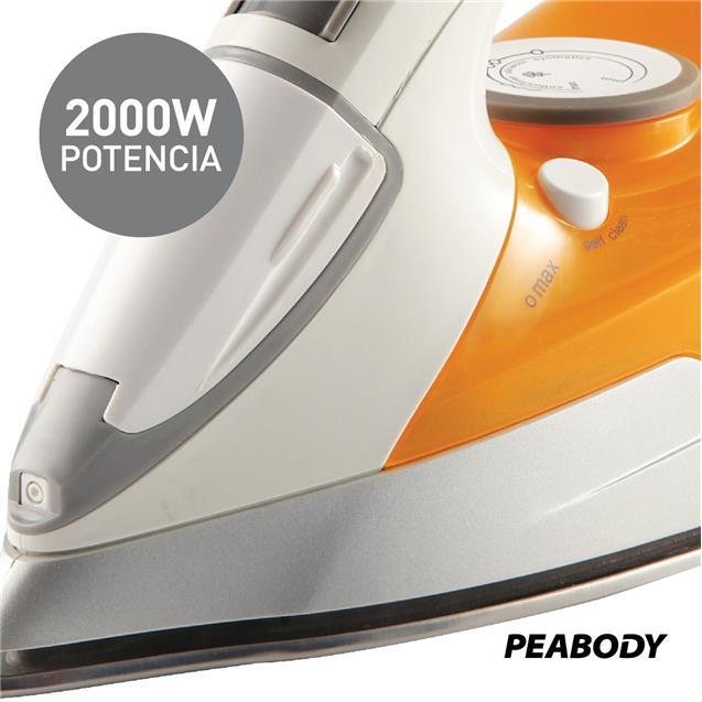 Plancha Peabody Vapor Ceramico (Pv-Pvc33)