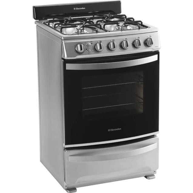 Cocina Electrolux 56cm Acero (exmr-856)