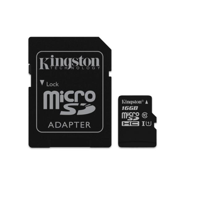 Tarjeta de Memoria Microsd 64 Gb Kingston Clase 10 (Sdc10g2)