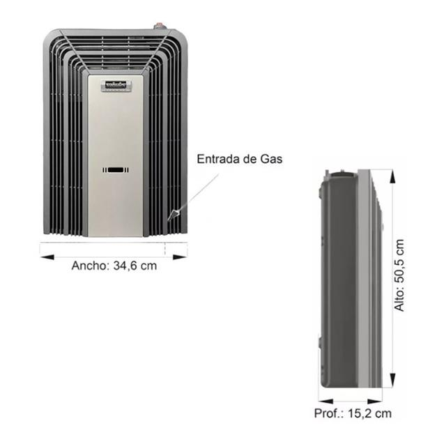 Calefactor Eskabe 3000 Tb G15 Titanium Ee Tt