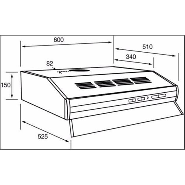Purificador Spar Bios Duo 2 Mot Blanco 60cm (3776-B00)