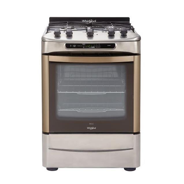 Cocina Whirlpool 60cm Acero Timer Digital(WF-560XT)