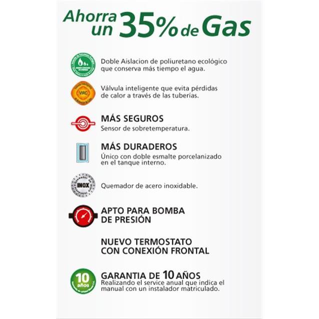 Termo Rheem 150lts A Gas (Tgnp150rh)