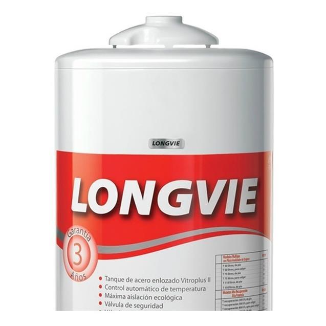 Termotanque Longvie 75 lts Pie Conex. Superior (T3075pf)